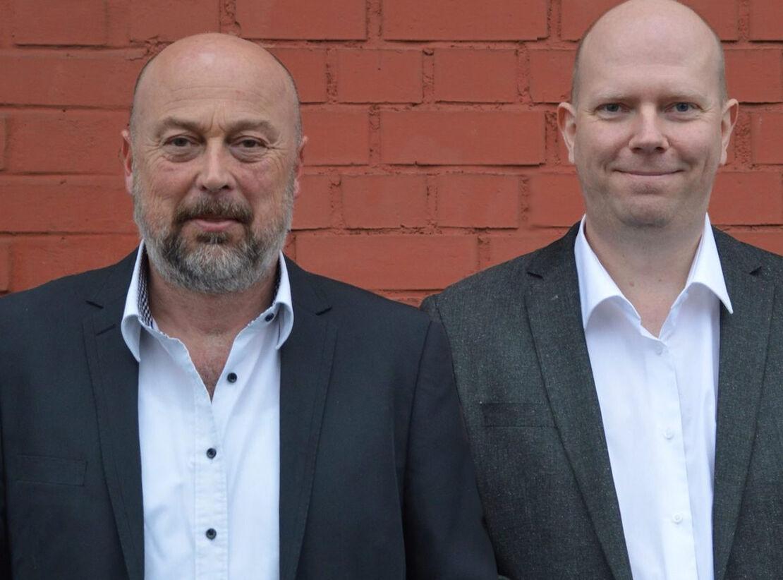 Rainer Marquart (li.) und Rainer Schupp